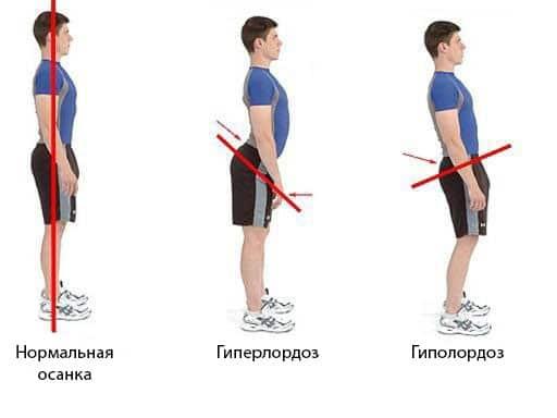положения тела